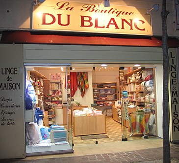 La Boutique Du Blanc - Cours Lafayette - Toulon